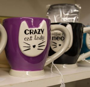 cat mugs - Treasures Under Sugar Loaf - Antiques, Collectible, Crafts - Winona, MN