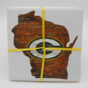 coaster-gb-packers-state-outline-cms-treasures-under-sugar-loaf-winona-minnesota-antiques-collectibles-crafts