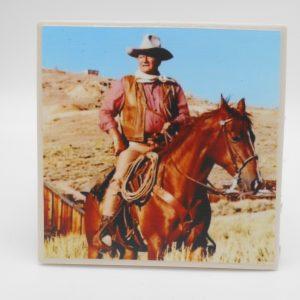 coaster-john-wayne-on-horse-cms-treasures-under-sugar-loaf-winona-minnesota-antiques-collectibles-crafts