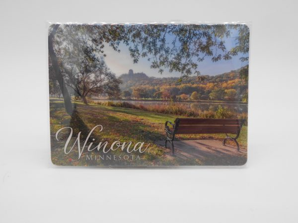 rectangular-seat-with-view-magnet-dj-treasures-under-sugar-loaf-winona-minnesota-antiques-collectibles-crafts