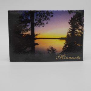 rectangular-sunset-magnet-dj-treasures-under-sugar-loaf-winona-minnesota-antiques-collectibles-crafts
