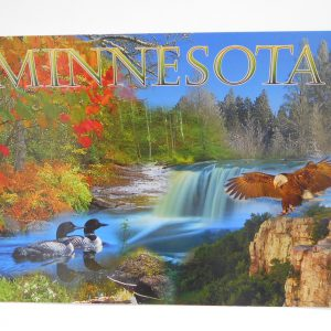 winona-postcard-seasons-dj-treasures-under-sugar-loaf-winona-minnesota-antiques-collectibles-crafts