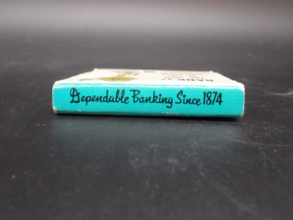 winona-national-bank-matchbook-3-dj-treasures-under-sugar-loaf-winona-minnesota-antiques-collectibles-crafts