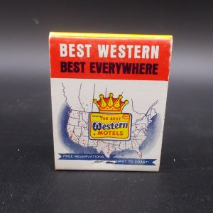 best-western-westgate-motel-matchbook-1-dj-treasures-under-sugar-loaf-winona-minnesota-antiques-collectibles-crafts