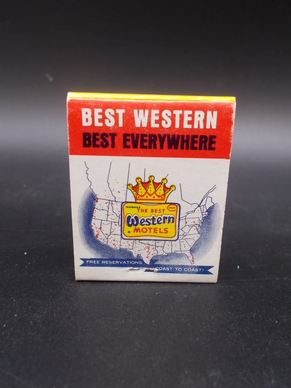 best-western-westgate-motel-matchbook-1-dj-treasures-under-sugar-loaf-winona-minnesota-antiques-collectibles-crafts