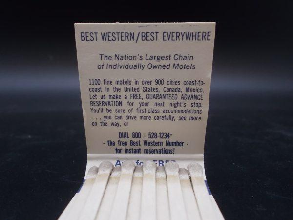 best-western-westgate-motel-matchbook-3-dj-treasures-under-sugar-loaf-winona-minnesota-antiques-collectibles-crafts