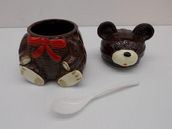otagiri-bear-honey-pot-2-dj-treasures-under-sugar-loaf-winona-minnesota-antiques-collectibles-crafts