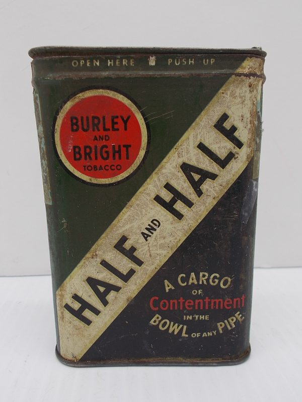half-half-tobacco-tin-dj-treasures-under-sugar-loaf-winona-minnesota-antiques-collectibles-crafts